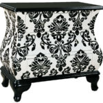 white black wood hand painted accent chest the classy home tables chests modern coffee table with storage furniture patio sectional ceramic outdoor distressed pedestal legs 150x150