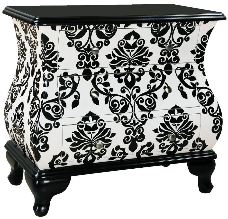 white black wood hand painted accent chest the classy home tables chests modern coffee table with storage furniture patio sectional ceramic outdoor distressed pedestal legs