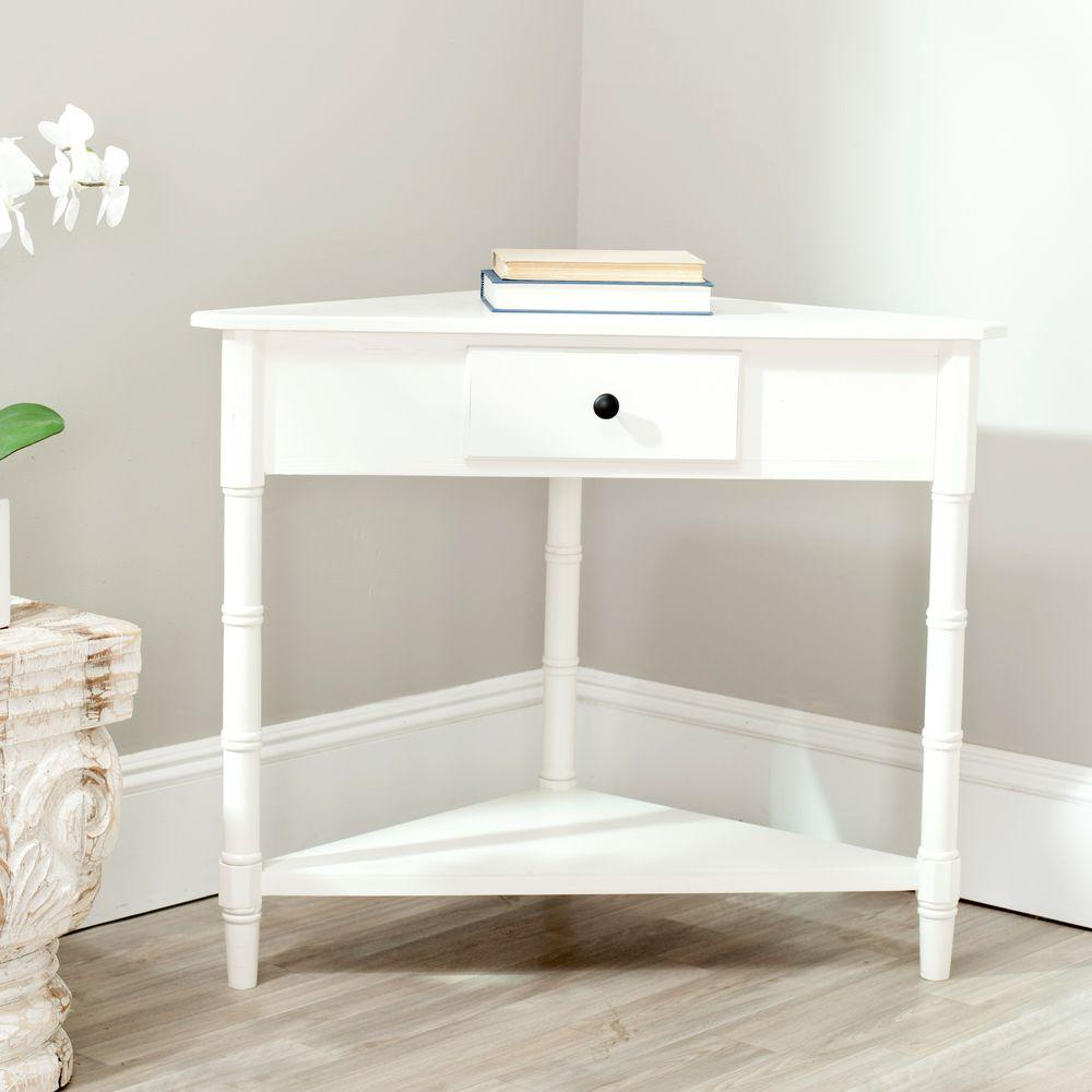 white corner console table beneficial accent windham cabinet with drawer entryway furniture mirror foyer decor pottery barn bedside counter height side metal patio set leather