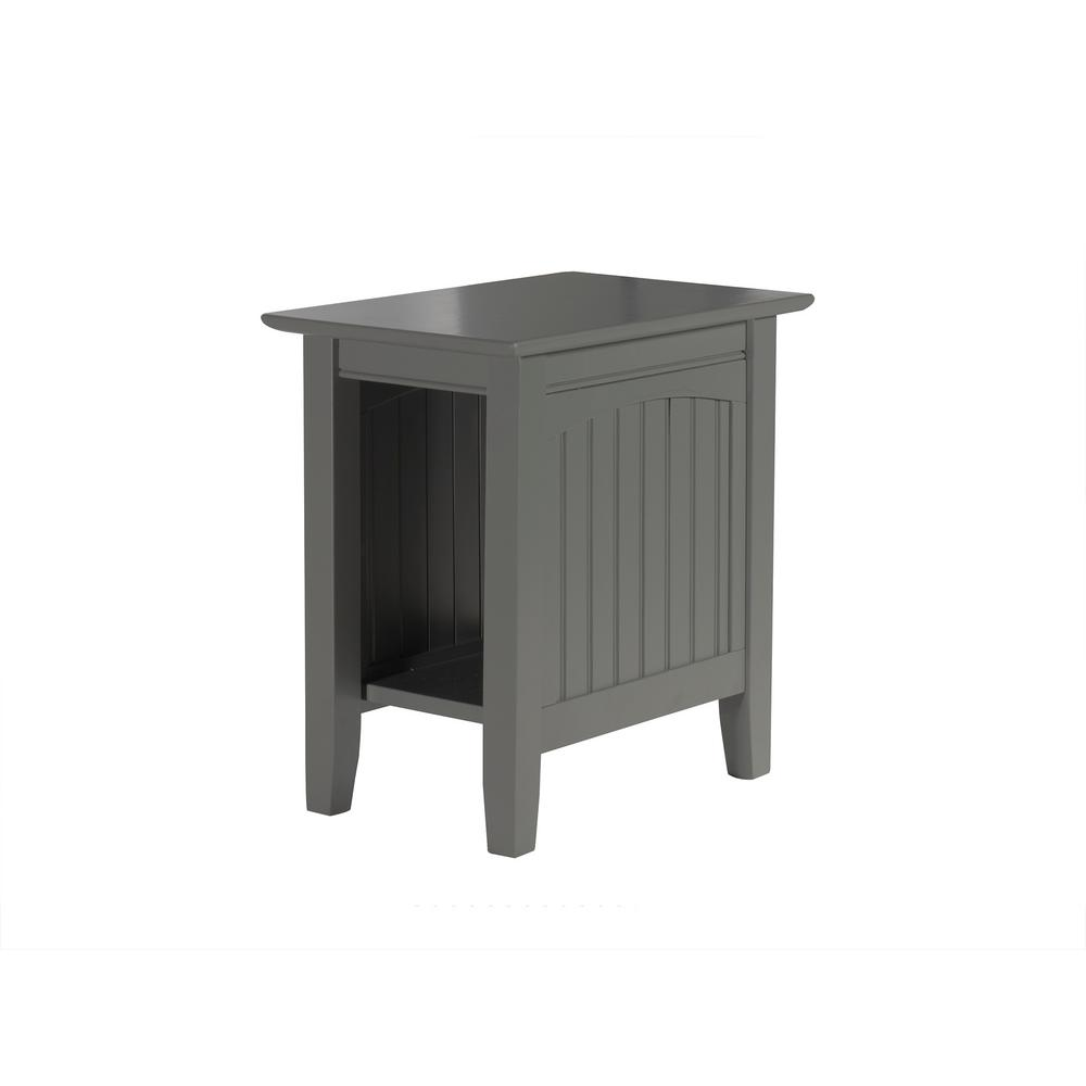 white cottage end tables accent the atlantic grey furniture with charging station nantucket chair side table champagne mirrored living room cabinet vintage french bedside target