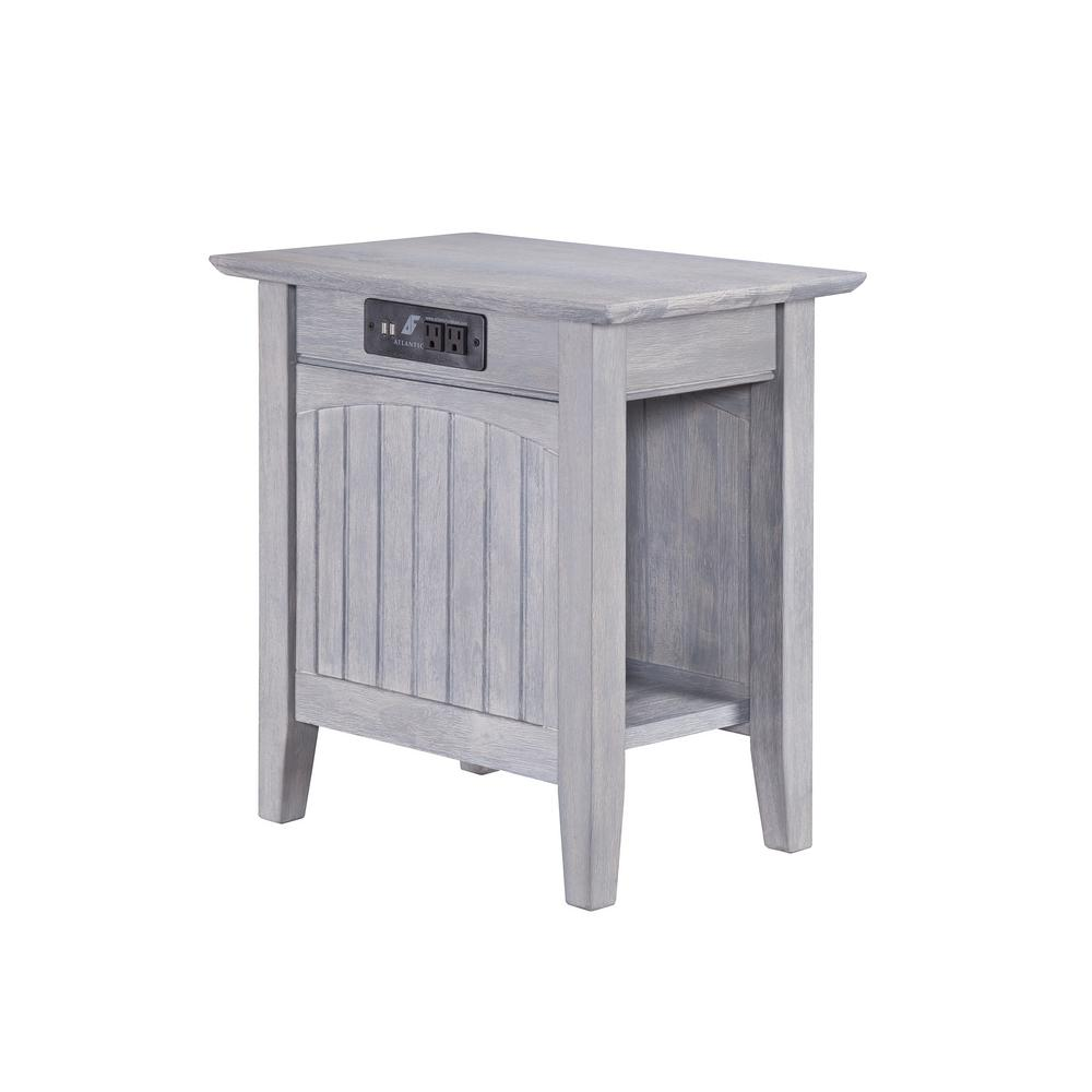 white cottage end tables accent the driftwood atlantic furniture with charging station nantucket chair side table extra thin console top pineapple lights vintage french bedside