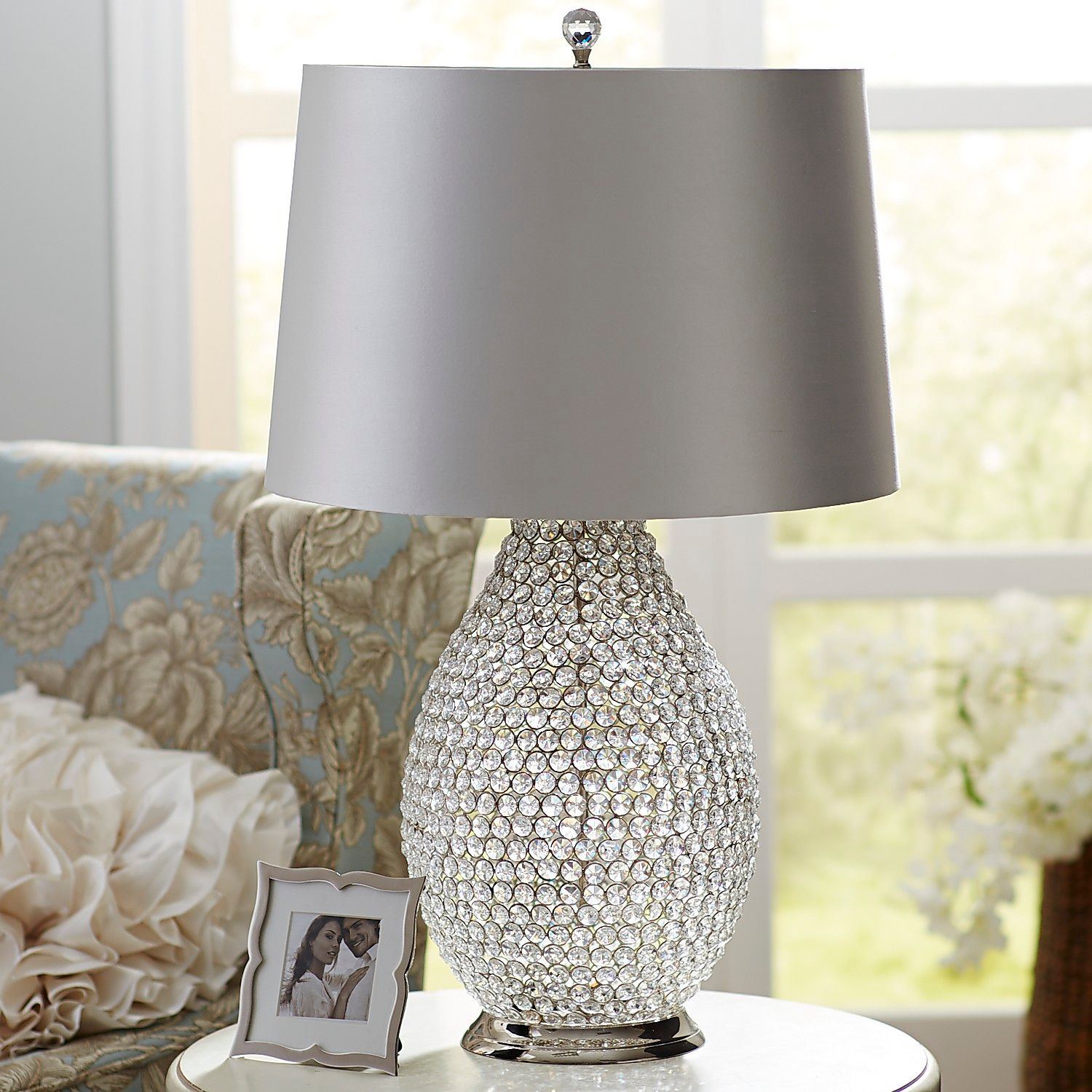white crystal table lamp pier imports one accent lamps chinese shades outdoor wicker furniture ikea storage baskets espresso color coffee cool retro tablecloth sisal runner red