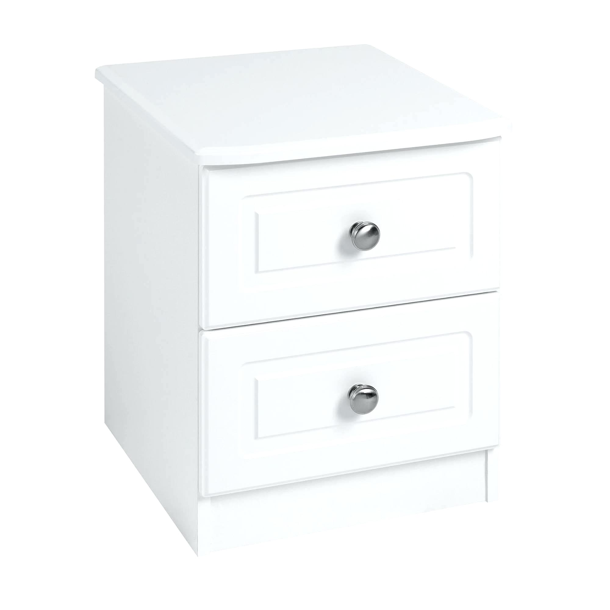 white drawer nightstand shipdirect bedside table prepac wdnh calla tall ikea accent outdoor couch set drum seat with backrest little support low living room small tiffany style