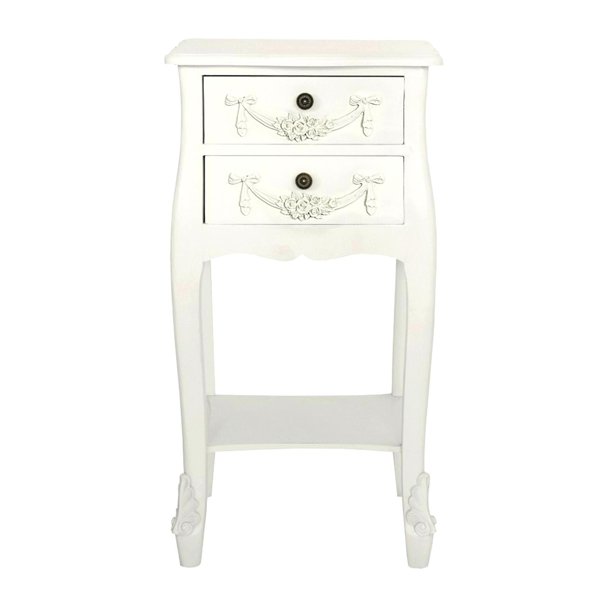white drawer nightstand shipdirect bedside table two monterey tall with open shelf prepac accent closet barn doors yellow decor wine rack holder outdoor couch set bar height low