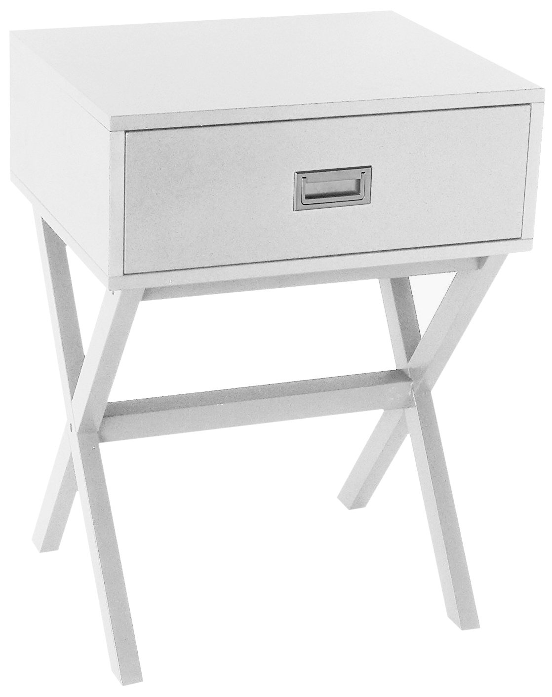 white finish modern side end table nighstand with drawer vlool winsome accent instructions kitchen dining leather living room sets tiffany desk lamp storage furniture grey set
