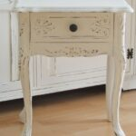 white furniture accent tables the vintage lover series diy simply smaller table nursery for runner rugs pottery barn ott floor division coffee with side patio dining chairs 150x150