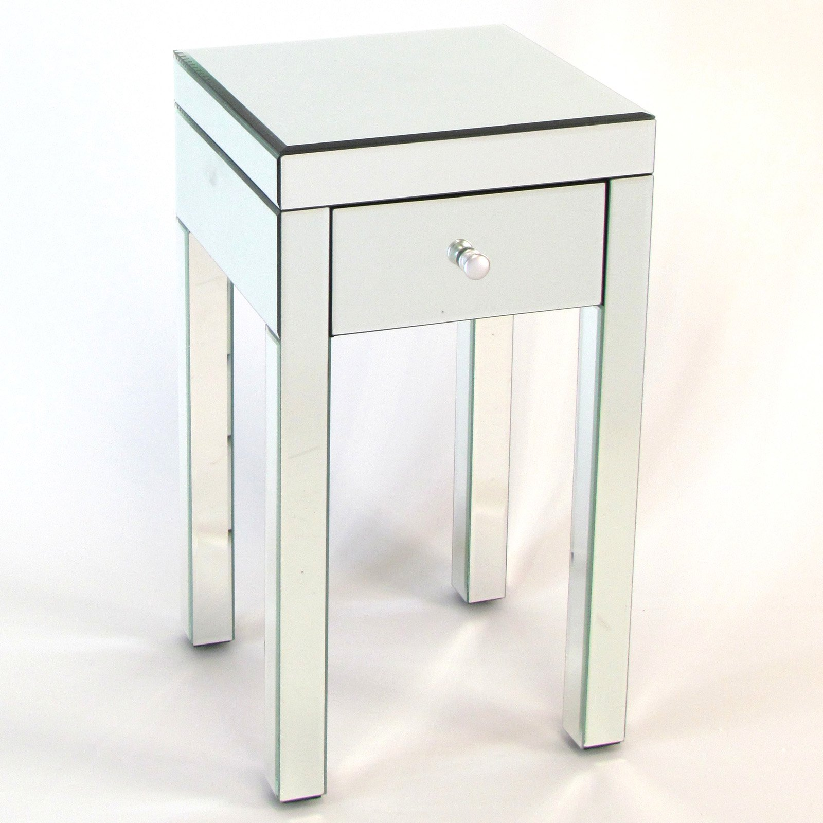 white gloss coffee table ikea the fantastic cool cube end dazzling mirrored for your home decor small bedside drawers tables glass accent with drawer borghese black and gold lamps