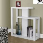 white hall console accent table from monarch coleman patio garden and wood end steel target dining concrete glass coffee replacement legs ikea top silver decor quatrefoil sofa 150x150