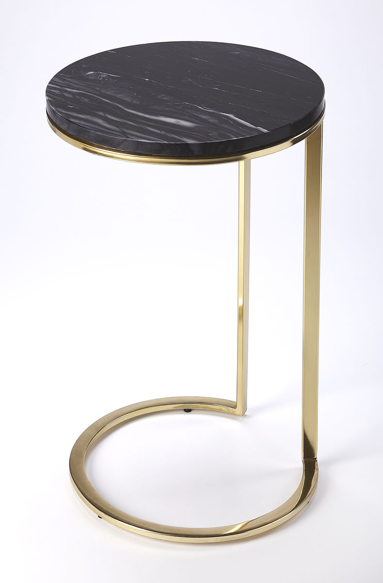 white marble black bone inlay geometric top accent table gold base mid century glass with lamp attached usb port carpet edge trim raw wood end wicker storage trunk patio furniture