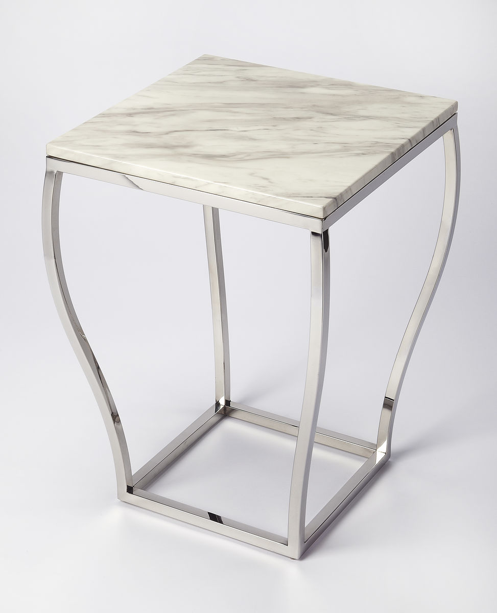 white marble top twirl design metal gold base accent table square silver cream colored nightstand chestnut furniture patio umbrella side small dark wood telephone shower chair