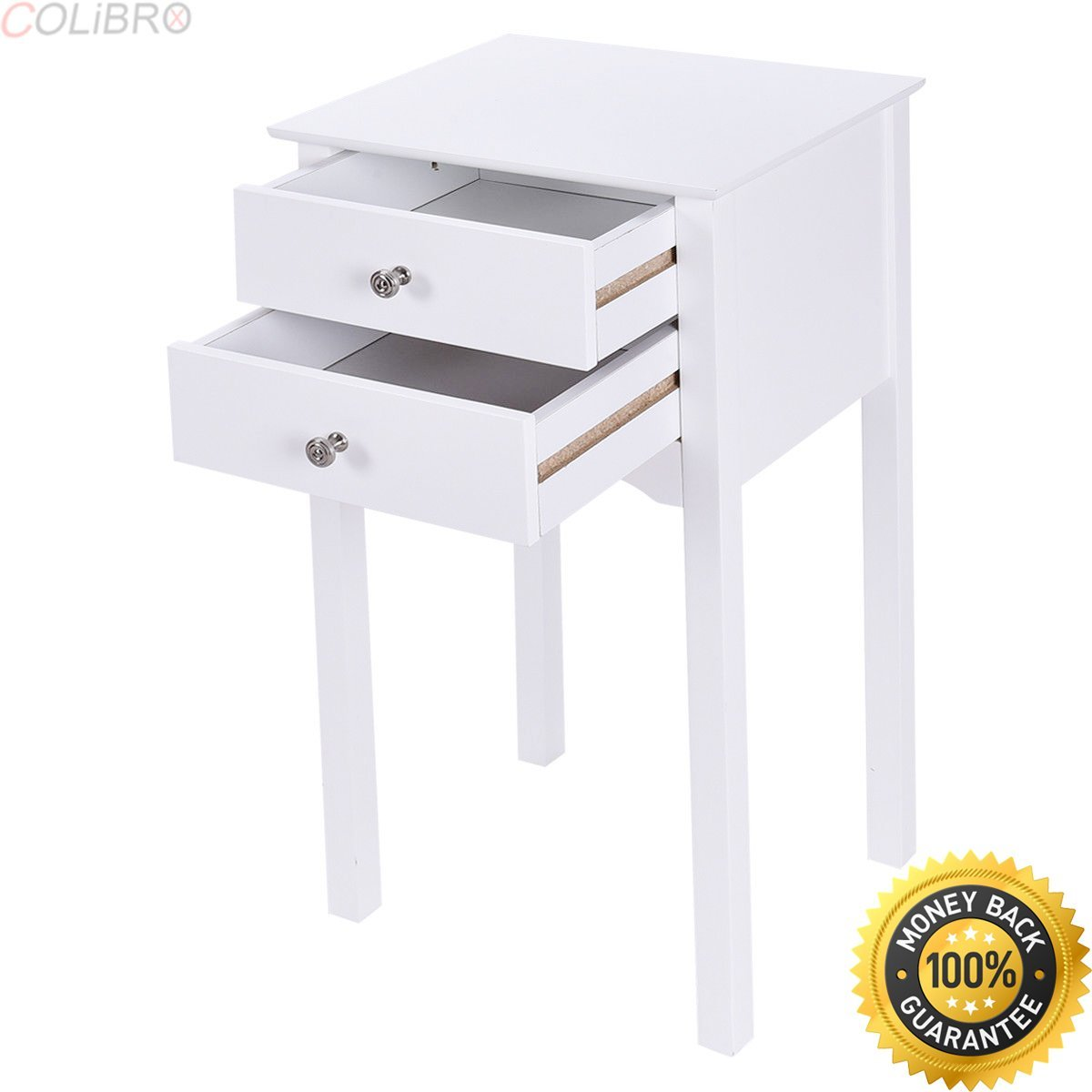 white night table find line accent get quotations colibrox pcs side end stand drawers target industrial coffee unfinished furniture affordable console corner wine cabinet the