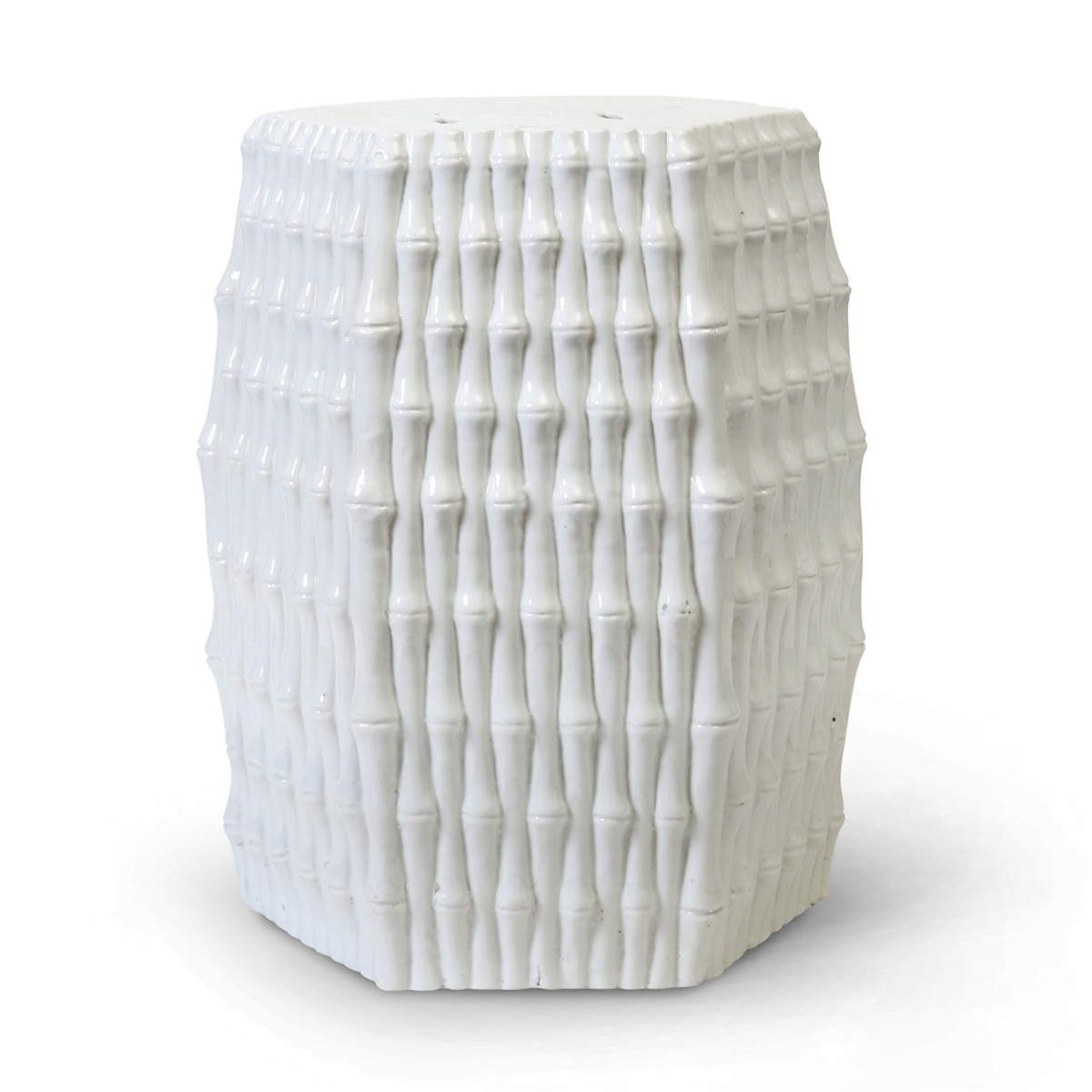 white oasis ceramic garden stool stools and accent table seaside lamps outside patio cast aluminum coffee tall bedside tables with drawers low outdoor deck chairs round tablecloth