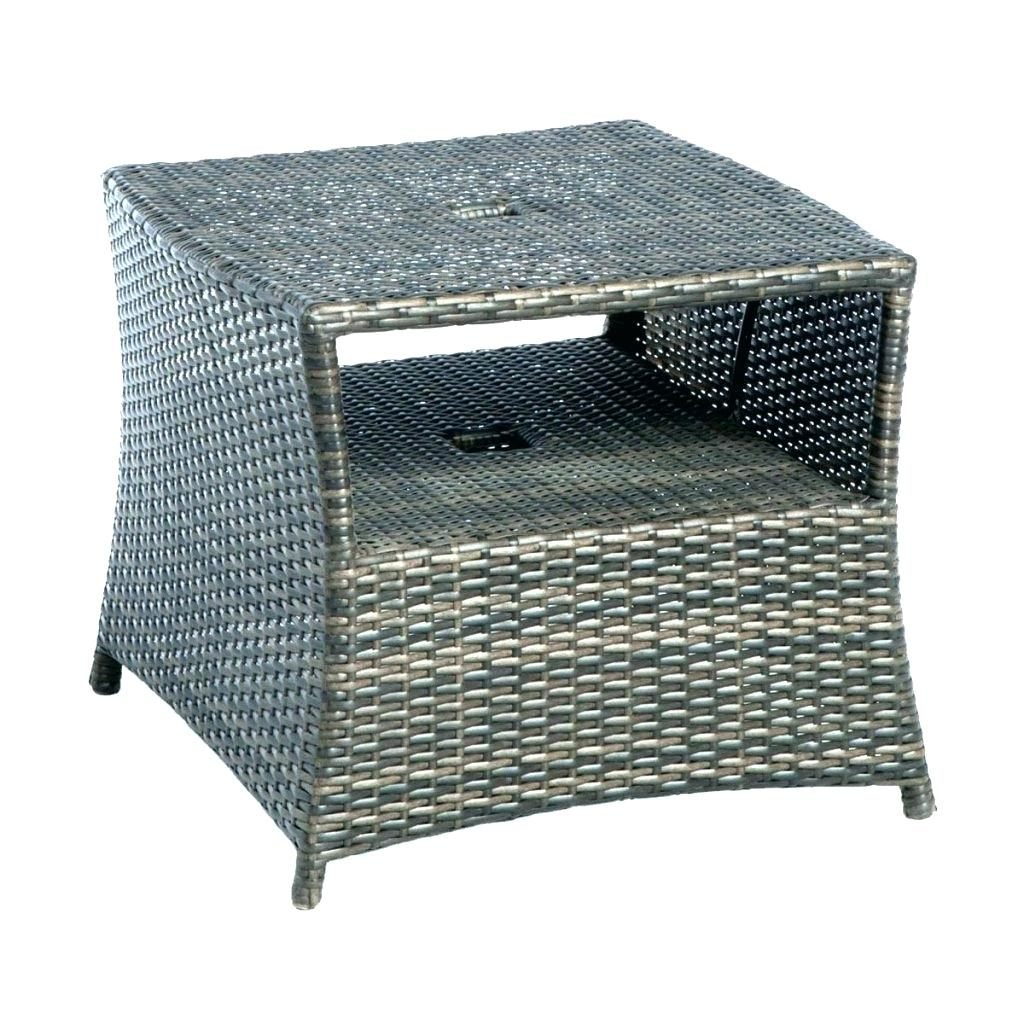 white outdoor side table metal plastic tables wicker facesseattle dining round pedestal industrial bedside black and silver lamps pottery barn high top screw desk legs ikea brass