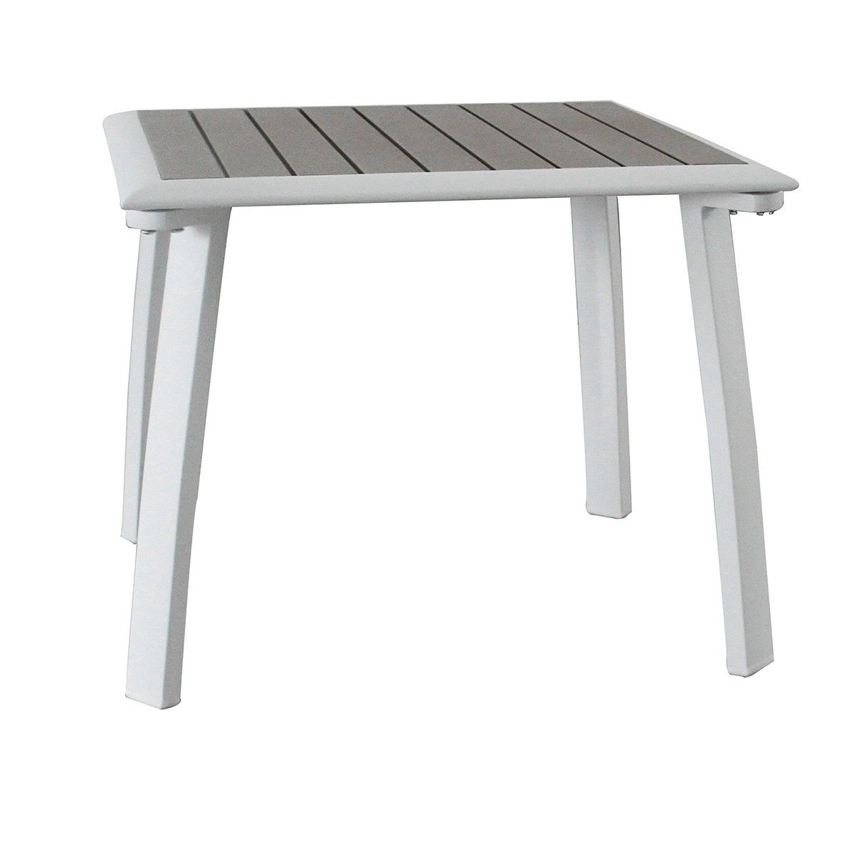 white outdoor side tables medium size coffee round glass ruby aluminium table accent workstation furniture small corner monarch vintage industrial end diy base frames vancouver