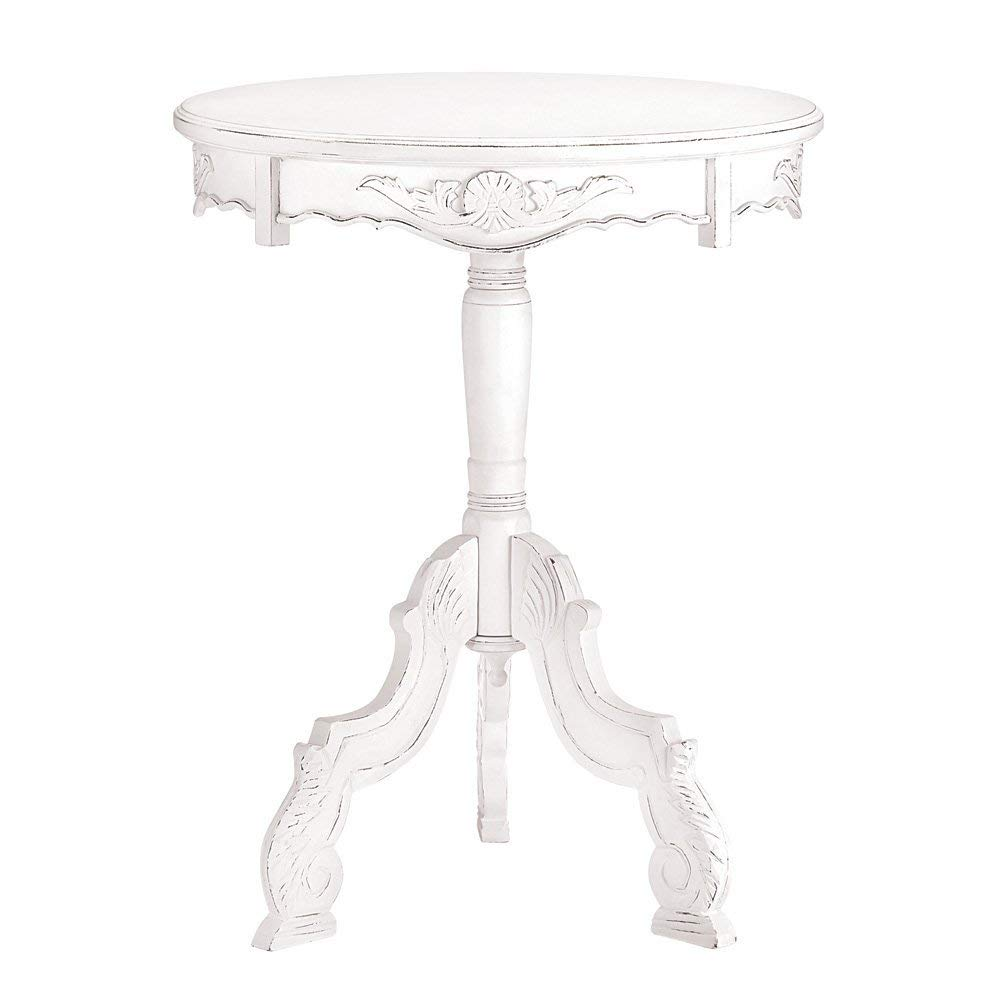 white round accent table find rustic get quotations rococo style wood small narrow end ultra slim console tables with drawers black metal outdoor side faux leather dining chairs