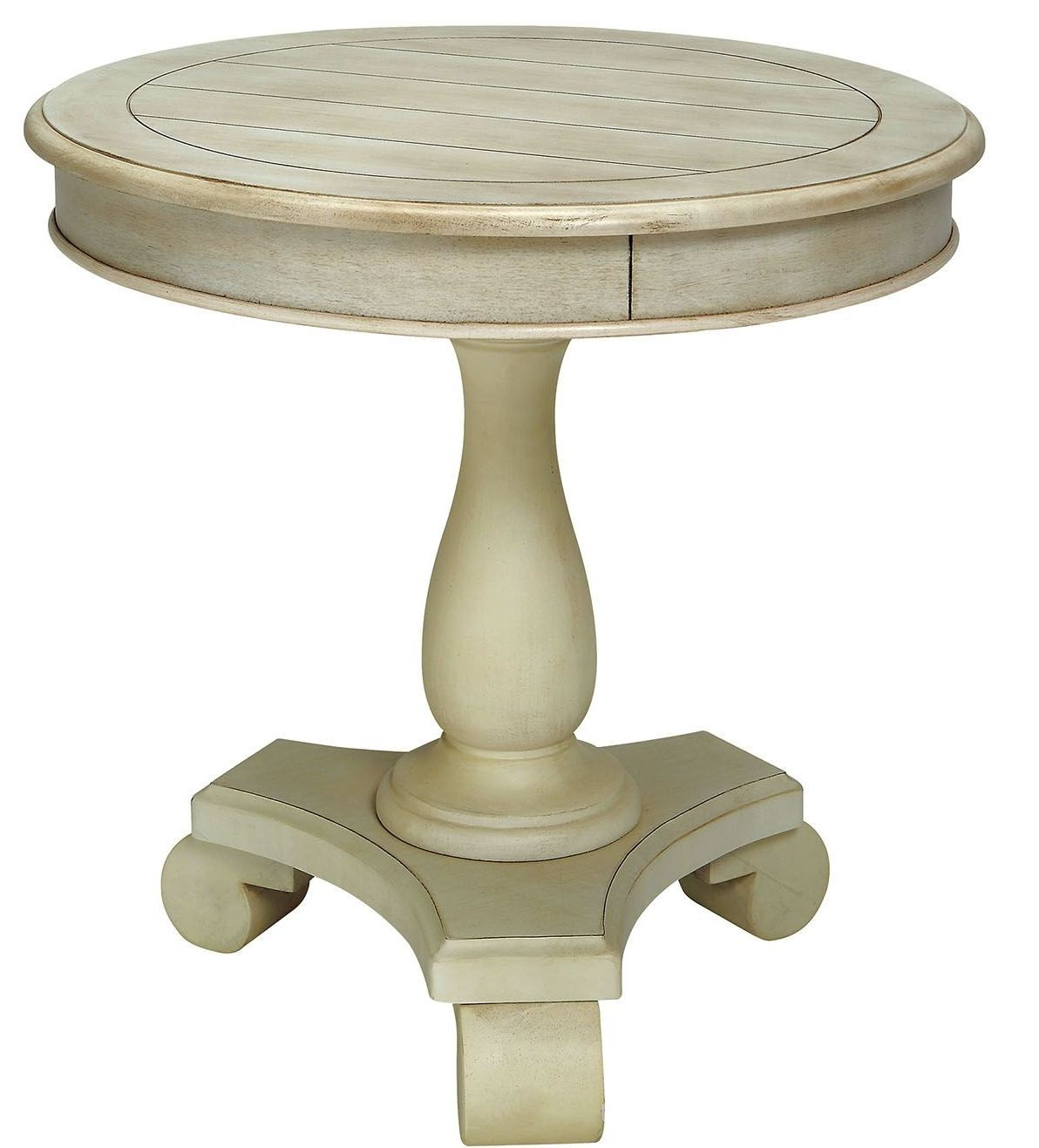 white round accent table small kalea antique from furniture neelan counter height pub black acrylic side designer tablecloths outside tables large garden umbrellas full length
