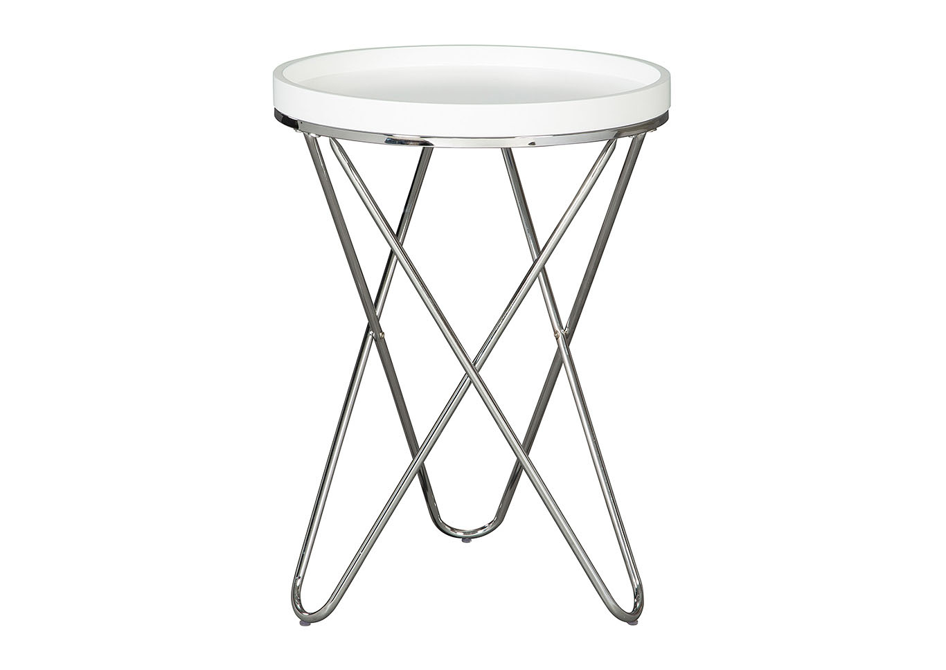 white round end table accent tables small living room leather full size zinc monarch specialities coffee outdoor wicker with glass top quilted runner ideas family entry furniture