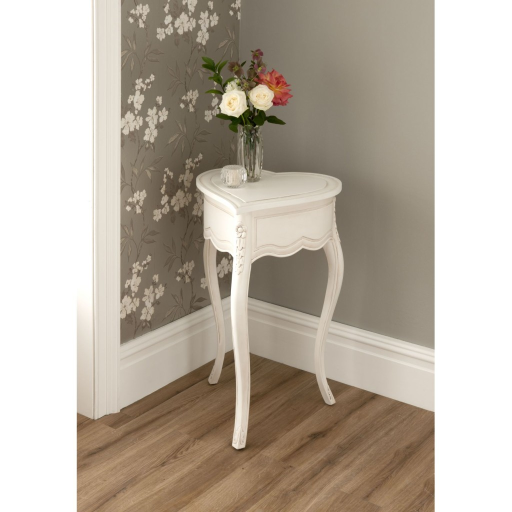 Tall White Accent Table Grottepastenaecollepardo