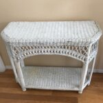 white wicker side table dotbot glass end tables and vintage credenza bar accent fabulous for indoor outdoor use recliner armchair mid century dining room furniture top coffee with 150x150