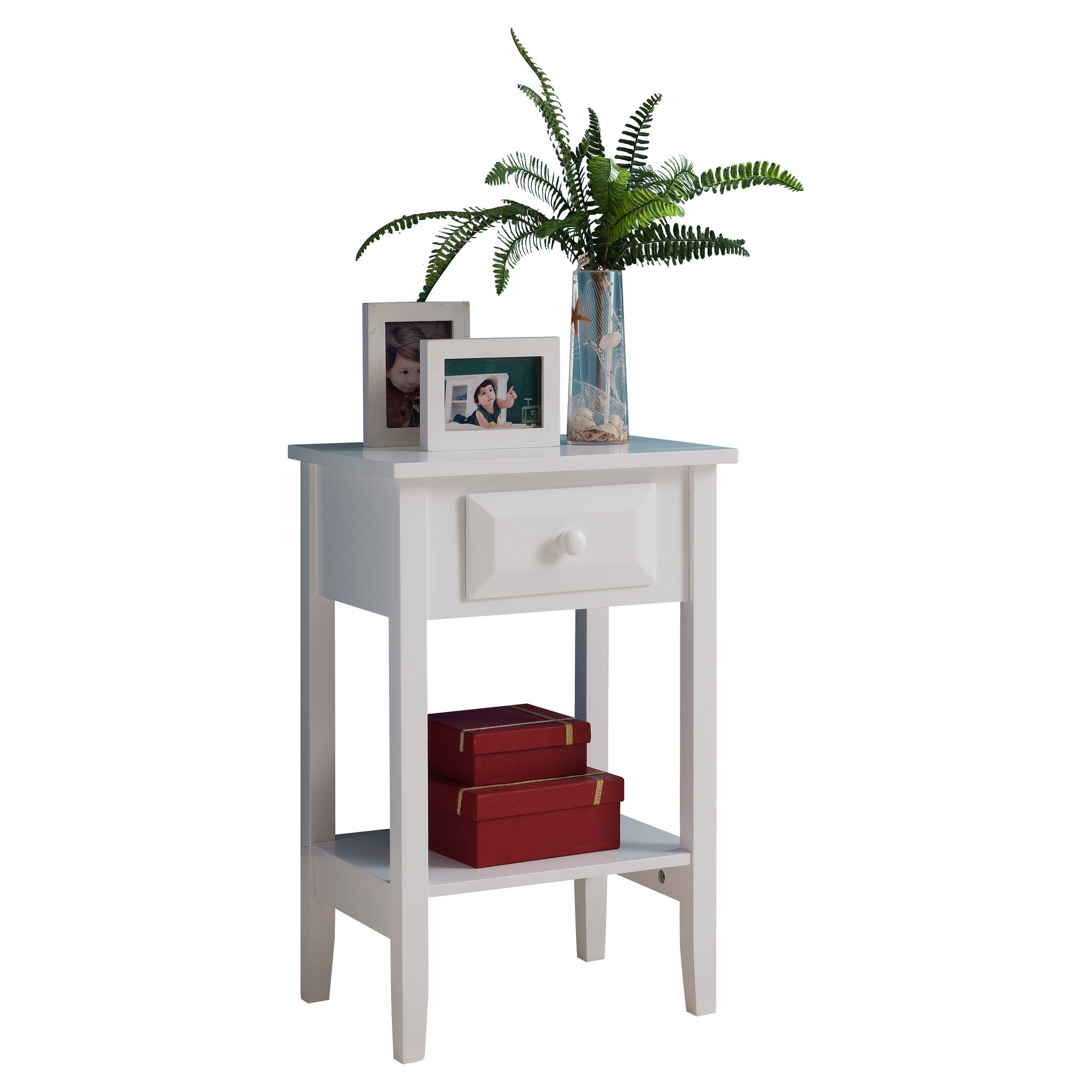 white wood kids accent storage side table night stand with drawer distressed coffee and end tables piece faux marble set outdoor wicker patio furniture steel bedside small round