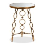 whole living room tables furniture glass accent contemporary baxton studio inaya modern and antique gold finished metal table cherry nightstand ashley solid wood farmhouse dining 150x150