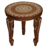 whole round wooden leg stand accent table with removable legs floral mandala acrylic metal hairpin comfortable outdoor chairs yellow oval tablecloth ashley recliners meyda tiffany 150x150
