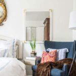 why your bedroom needs accent chair thou swell blue wingback chairs and table this new side room goes beautifully with the swirl lamp fun pillows shared last post just love 150x150