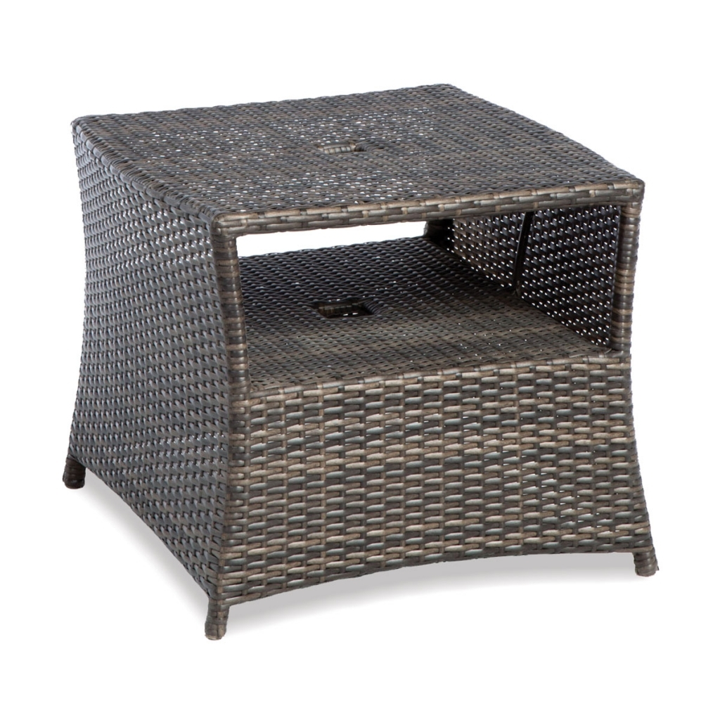 wicker accent table crazy johnny bargain ashley outdoor woven metal threshold rattan tables dark end white coffee with storage kitchen chairs small kids desk high top barnwood bar