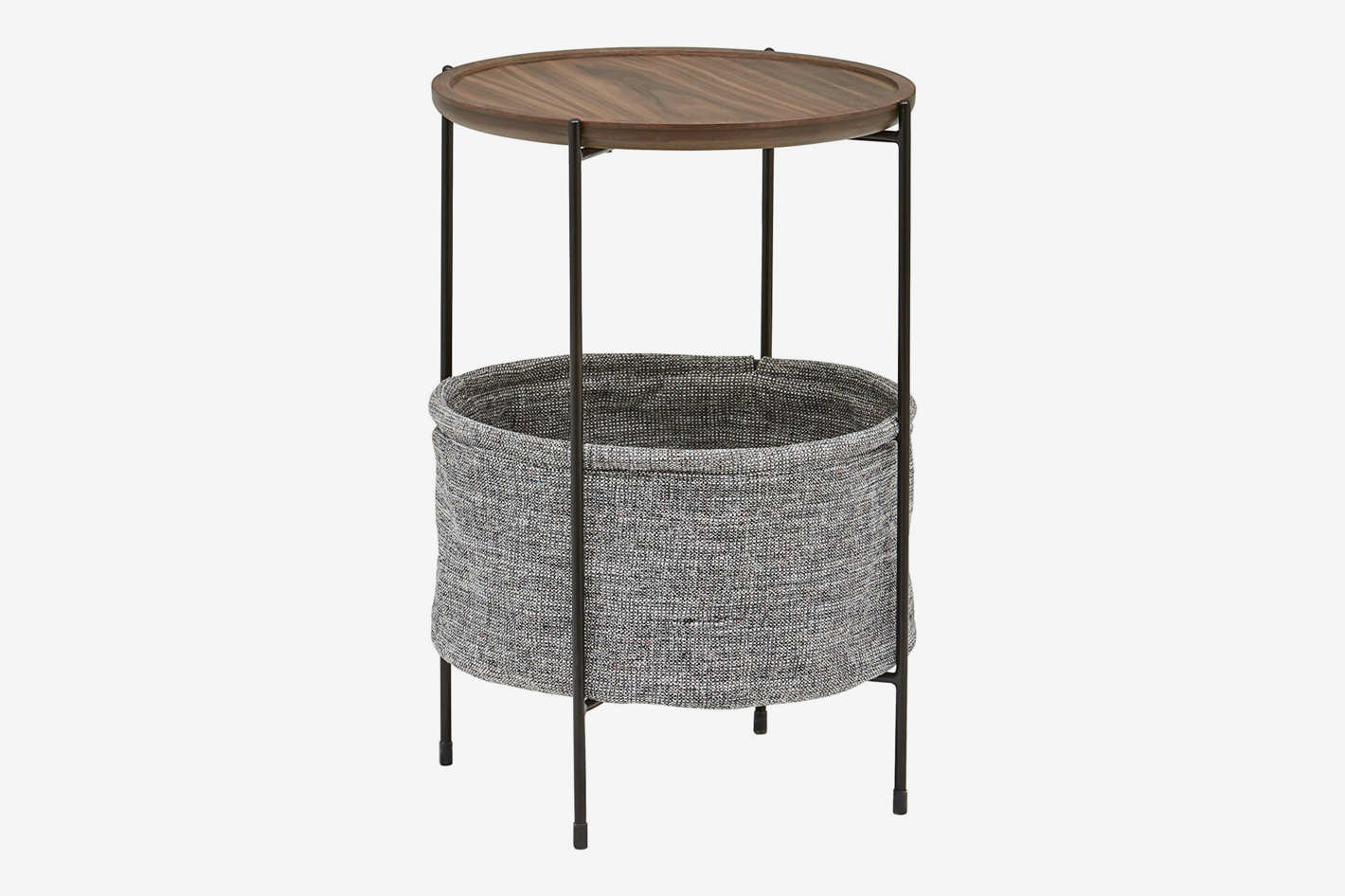 wicker storage baskets that look like decor rivet meeks round basket side table accent narrow hallway contemporary bedroom furniture end green dorm room wooden patio chairs and