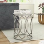 willa arlo interiors kehl metal end table reviews eyelet accent average coffee height patio beer cooler brass base large barn door unique small side tables antique gold pier 150x150