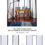 williams sonoma striped edge linen drape copycatchic teen suite ribbon copy cat chic look for less pottery barn jamie accent table each target circo wood dining room furniture 150x150