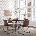 williston forge lanford piece dining set reviews table accent pieces bedside dresser full wall mirrors farmhouse style west elm carved wood coffee white round mirror yellow patio 150x150