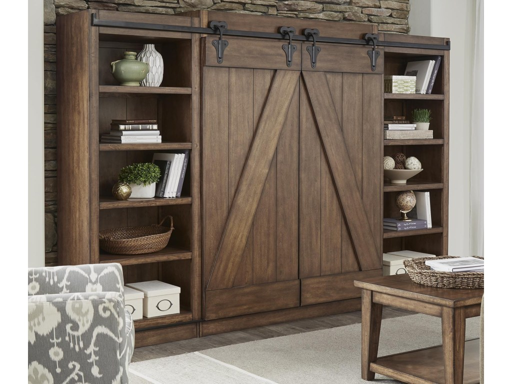 willow creek entertainment center with piers and sliding barn doors products liberty furniture color lancaster entw ecp accent table door pier one mirrored desk tier best coffee