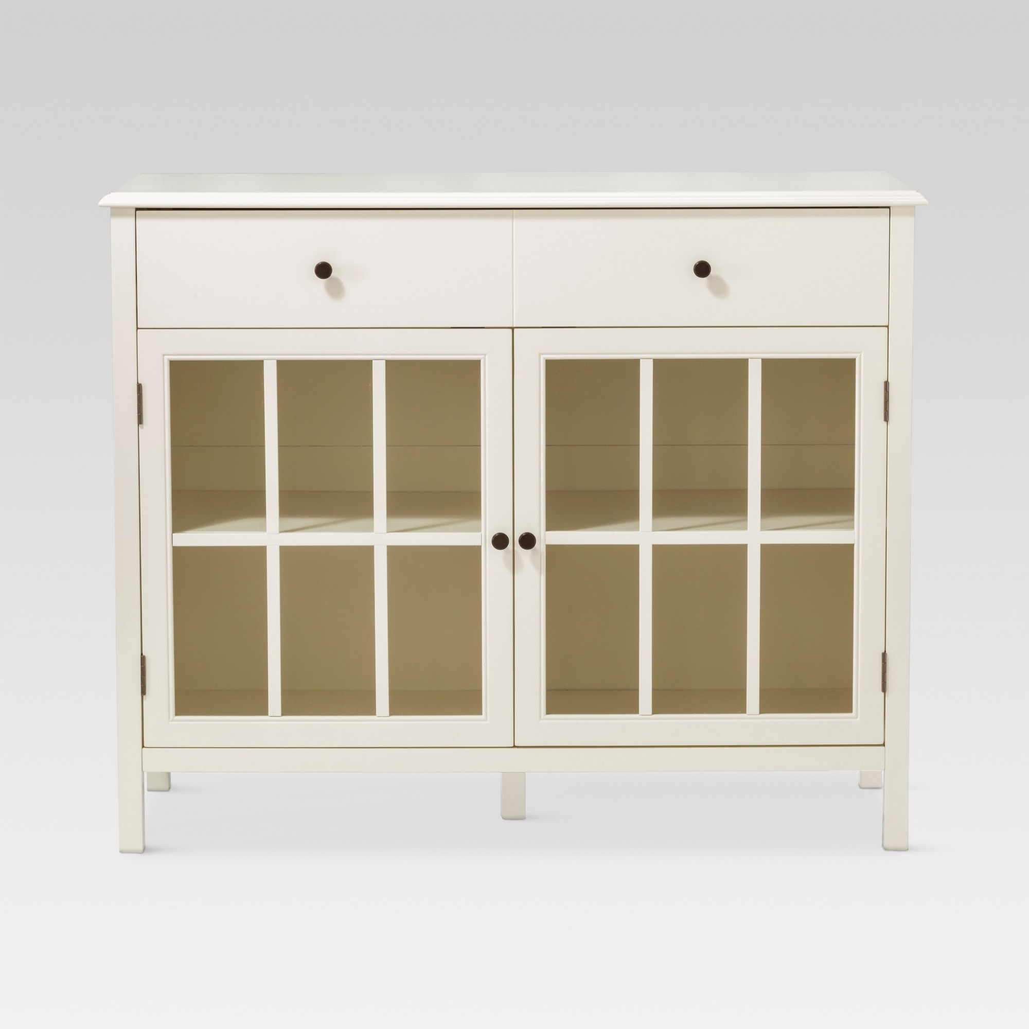windham door accent buffet cabinet with shelves off white threshold table wine pier lamps small fold side round decorator tablecloths metal furniture legs modern living room floor