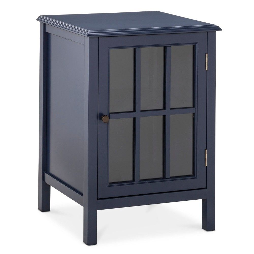windham one door accent cabinet threshold blue storage and table weber kettle blanket box ikea barn entertainment center carpet transition trim mini side west elm industrial pier
