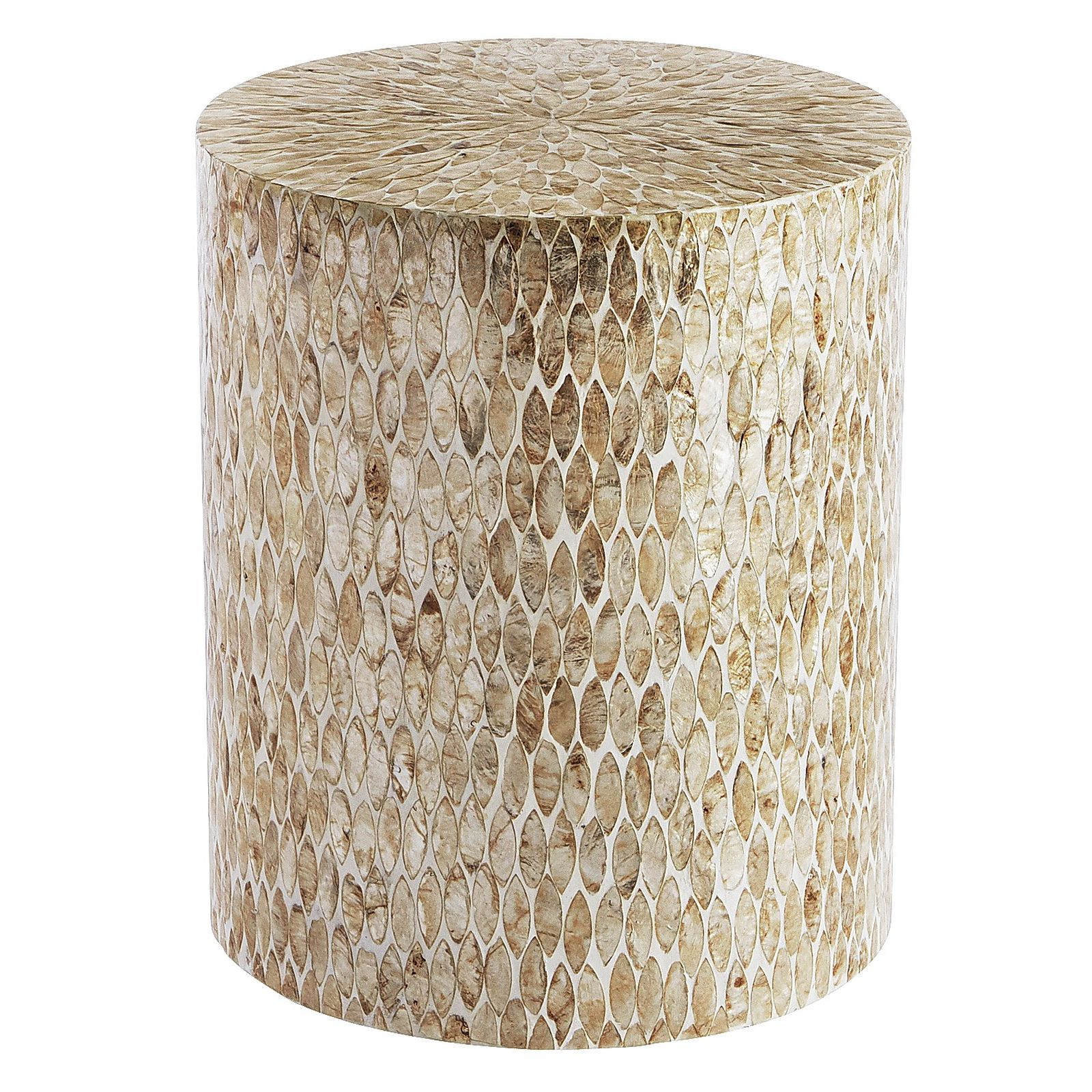 wine furniture probably perfect fun drum shaped end table gallery occasional tables our guest capizleafsidetable outdoor patio accent pine and chairs wooden bedside cabinets argos