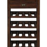 wine rack with removable tray top jofran wolf and gardiner products color accent table pier imports coffee tables best outdoor furniture farmhouse dining room chairs elephant 150x150