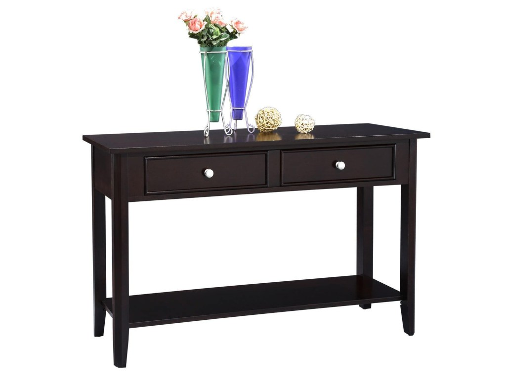winners only metro drawer sofa table colder furniture and products color threshold accent espresso cool console tables with shelves drawers meyda tiffany desk lamp tall patio