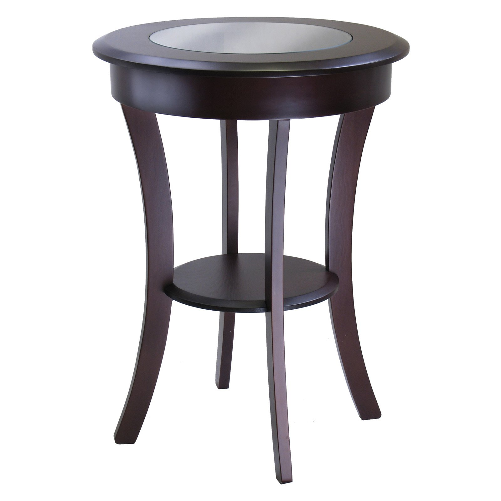 winsome cassie round accent table master brown butler desk furniture easter runner quilt patterns modern wood coffee corner nest tables slipper chair small glass shallow cabinet