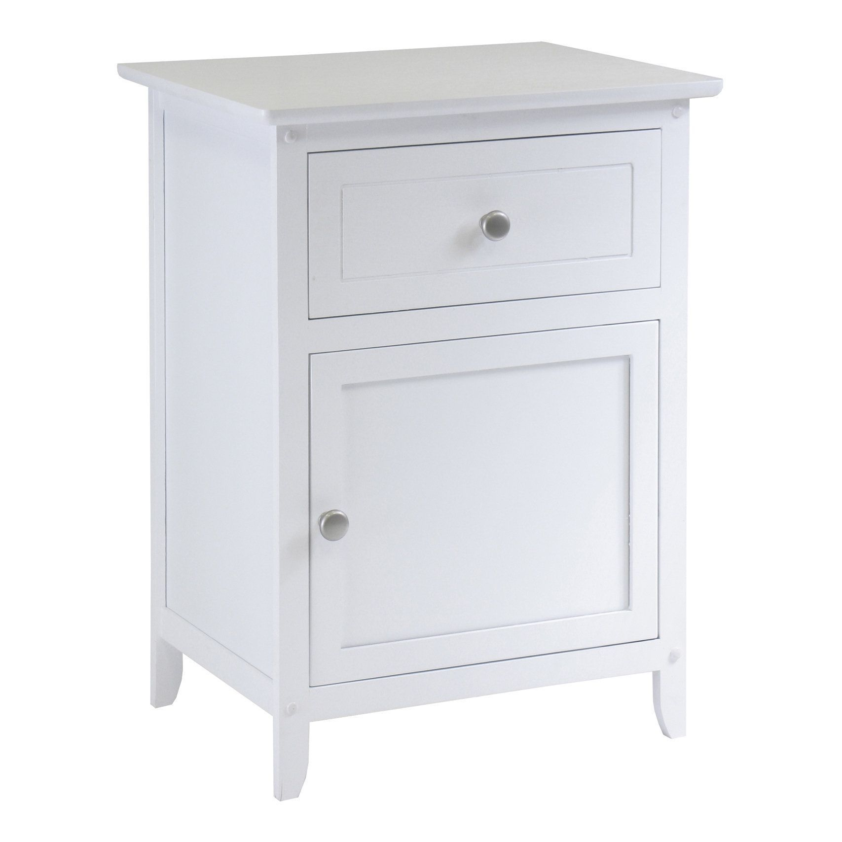 winsome eugene night stand accent table with drawer cabinet wood beechwood end espresso ping bedding furniture electronics jewelry clothing more white linen runner removable legs