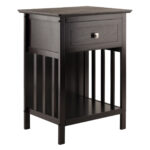 winsome marcel solid and composite wood accent table oak tables with drawer coffee finish entry benches furniture black outdoor pub bar height bathroom chest drawers jcpenney 150x150