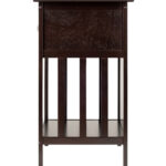 winsome marcel solid and composite wood accent table room essentials with drawer coffee finish cream dining chairs tablecloth runners end decor west elm arc floor lamp patio 150x150
