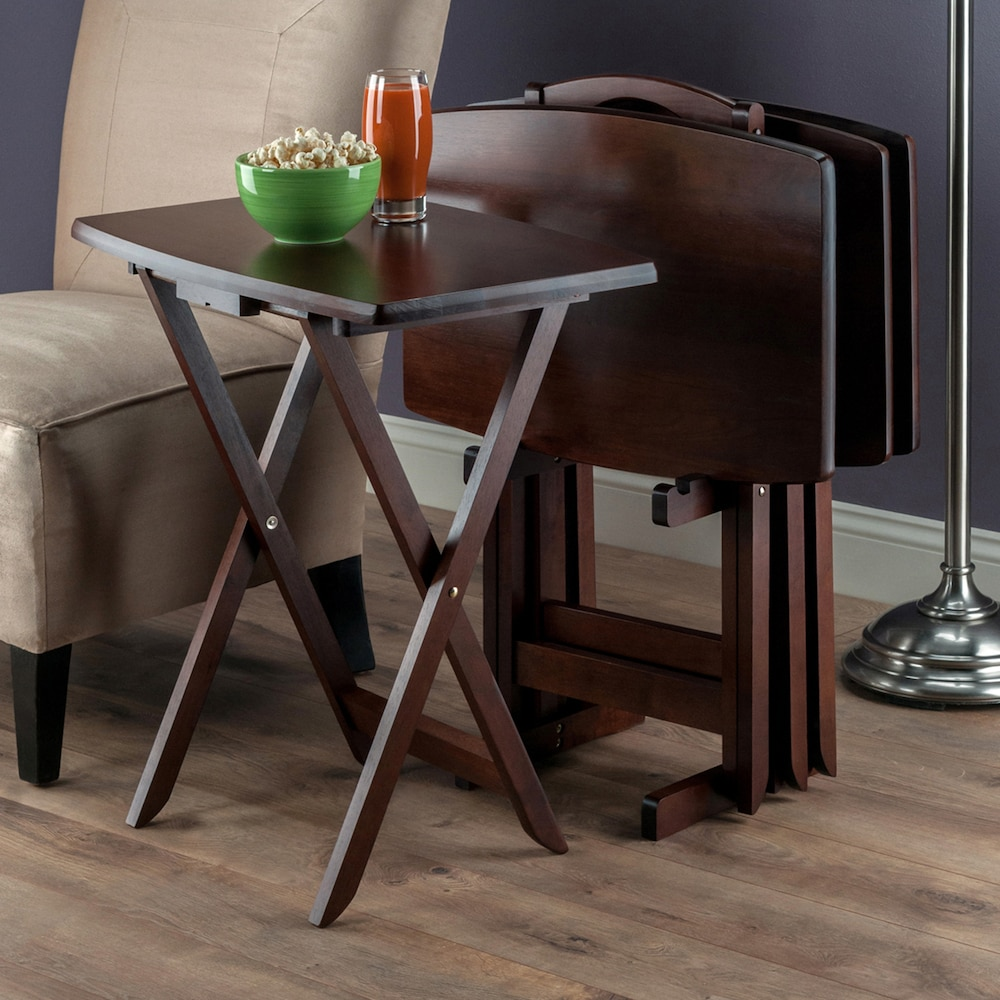 winsome oversized tray table set wood accent walnut small contemporary home decor lamps pine end tables nautical patio furniture and chairs tiny lamp battery operated indoor