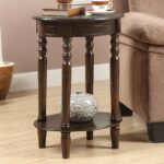 winsome red accent table wood wooden pedestal and faux round white woodworking target threshold mango distressed reclaimed marble plans metal small full size tiffany glass lamps 150x150