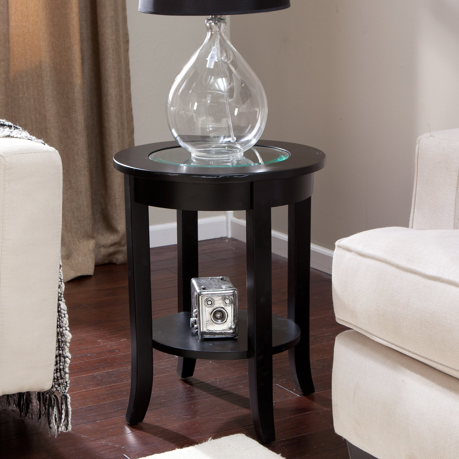 winsome sasha round accent table home interior design trends master gallery coffee tables large silver clock patio drink pottery barn kitchen razer ouroboros review free end side
