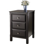 winsome timmy nightstand accent table black with basket drawers gold lamp shades wooden threshold plates living room console storage tall narrow hallway uttermost sinley lacquer 150x150