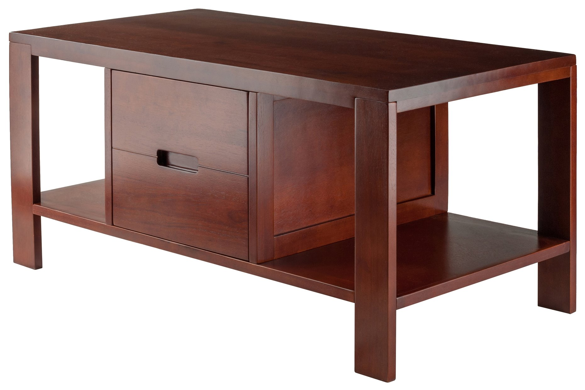 winsome wood bora transitional accent table winw see details brown leather chair black and white bedside lamps scandinavian side drawers college essentials vanity unit with basin