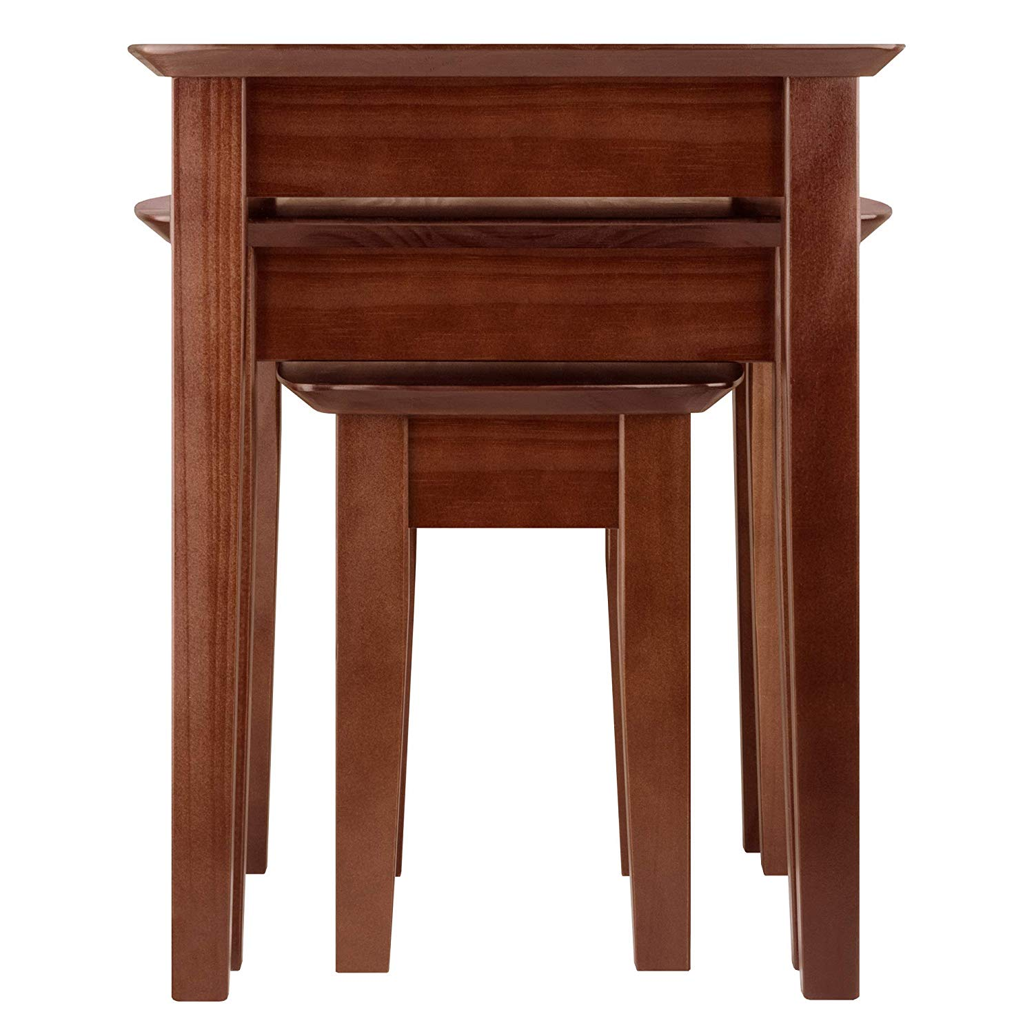 winsome wood bradley accent table antique walnut kitchen dining unfinished bedside round glass small nate berkus gold coffee nautical sheesham home goods website chests and