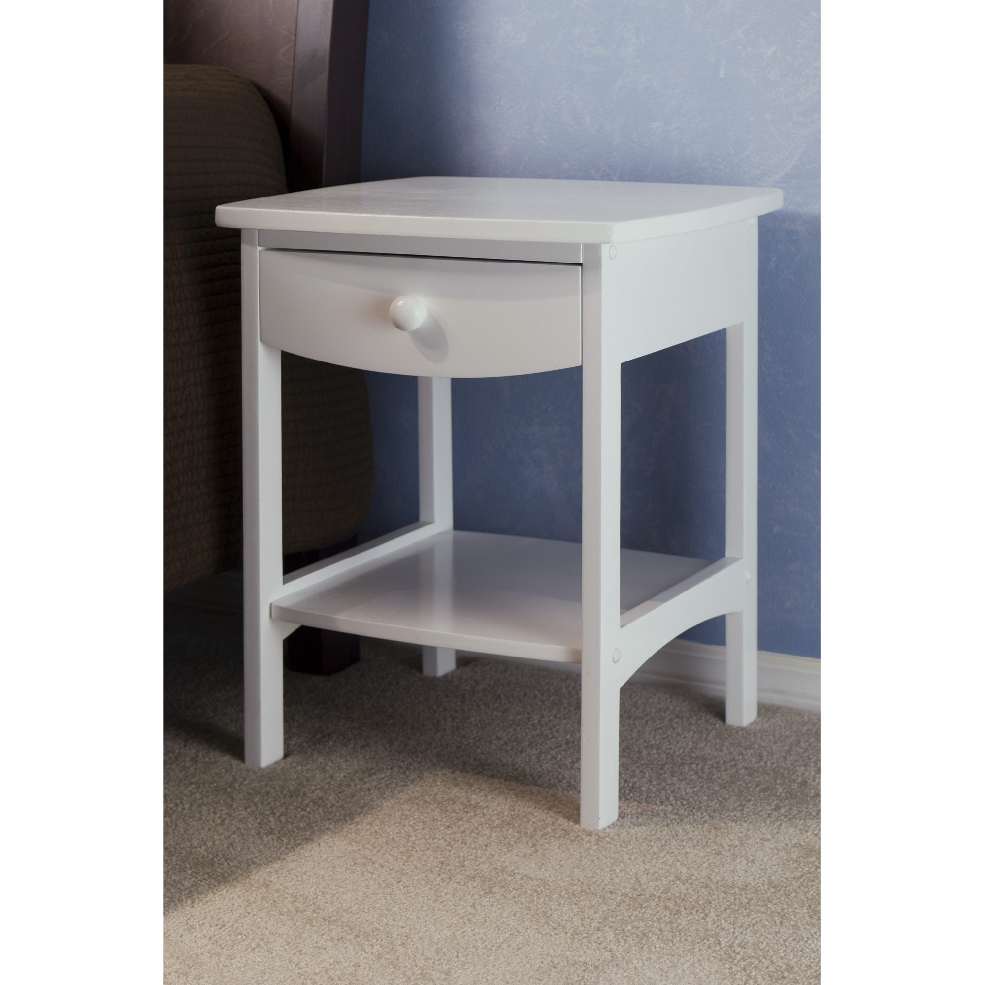 winsome wood claire accent table white finish prod hairpin dining scandinavian side vanity unit with basin tall bedside tables drawers butler dark oak contemporary coffee designs