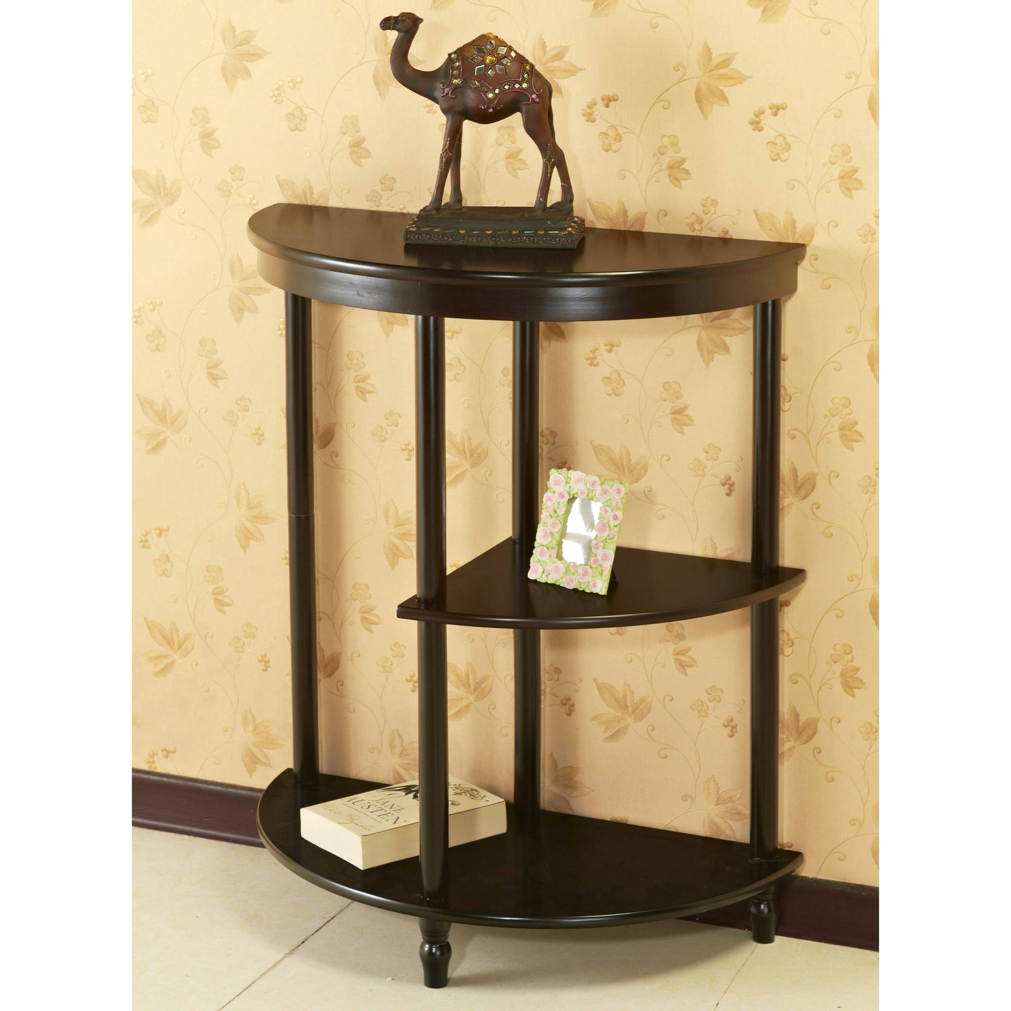 winsome wood concord half moon console table drawer walnut small accent entryway sofa dale tiffany aldridge lamp with storage wicker garden chairs ikea tablecloths and napkins